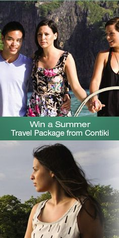 Win a #Summer #Travel Package from #Contiki! #competition #vacation