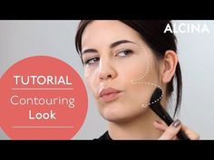 Perfektes Make-up durch Contouring