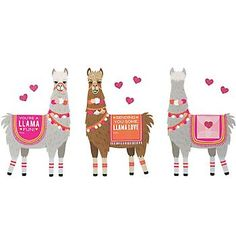 Llama Love Valentines Craft Kit