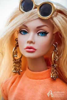 Fashion Royalty Dolls, Fashion Dolls, Custom Barbie, Poppy Doll, That Poppy, Glamour Dolls, Real Doll, Valley Of The Dolls, Beautiful Barbie Dolls