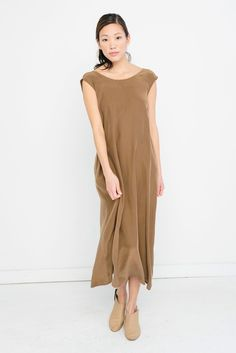 146ade4f91b75 image.alt Silk Midi Dress, Silk Crepe, Jumpsuit Dress, Stuff To Buy