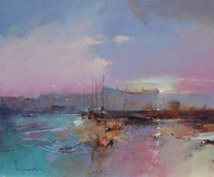 Sunset Moorings by Peter Wileman PPROI RSMA EAGMA FRSA