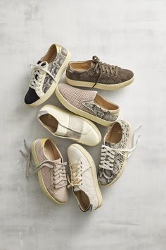 A chic-er sneaker. Multi-task in style. The effortless go-to style for the girl on the go. Shop must-have spring sneakers now with free shipping and returns. #startwithshoes
