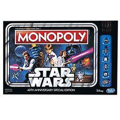 Star Wars 40th Anniversary Monopoly   ThinkGeek