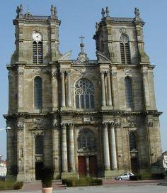 Collégiale Notre-Dame de Vitry-le-François . Marne. Champagne