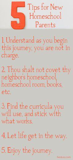 Click here to read the entire article for beginning #homeschool parents! via Hedua.com/blog