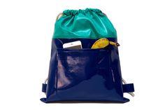Drawstring bags men backpack women bags with by SneakyTeaky