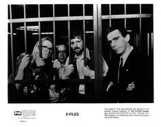 Richard Belzer, Tom Braidwood, Dean Haglund, and Bruce Harwood in The X Files Best Love Stories, Love Story, John Munch, Richard Belzer, The Lone Gunmen, Mitch Pileggi, Chris Carter