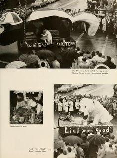 Athena yearbook, 1960. Homecoming 1959.