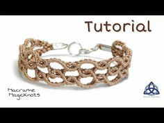 Macrame Bracelet Tutorial Super Easy Wavy by Macrame Magic Knots - YouTube