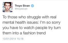 Troye Sivan | mental health<<< what a babe