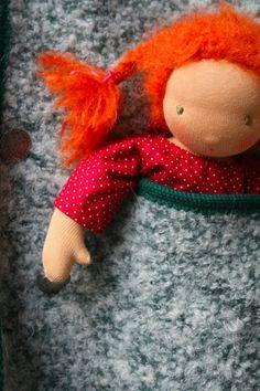 doll/Puppe: Stoffpuppe  IDA  auf Wunsch! von von Kowalke auf DaWanda.com 25 cm 100,-