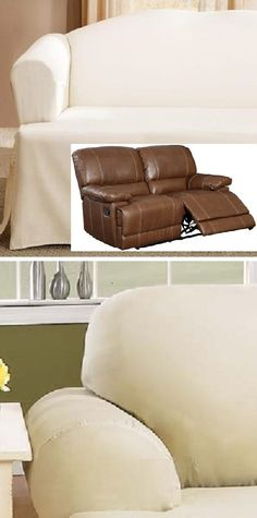 Dual Reclining LOVESEAT Slipcover T Cushion Off-White Adapted for Recliner Love Seat · Loveseat SlipcoversFurniture ... & Reclining SOFA T Cushion Slipcover Ribbed Texture Chocolate ... islam-shia.org