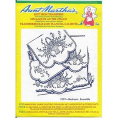 Aunt Martha's Hot Iron Transfers 3339 Bedroom Ensemble Uncut Factory Sealed Listing in the Fabric Transfers,Fabric Painting & Decorating,Crafts, Handmade & Sewing Category on eBid Canada Kwik Sew, Hot, Iron On Transfer, Fabric Painting, Decoration, Wearable Art, Cover Design, Needlepoint, Craft Supplies