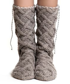 Tassel Mukluk Slippers | these look amazing.