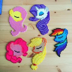 My Little Pony perler beads by kallemus