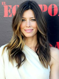 What do people think of Jessica Biel? See opinions and rankings about Jessica Biel across various lists and topics. What Is Ombre Hair, Ombre Hair Color, Hair Color Balayage, Hair Highlights, Subtle Highlights, Ombre Style, Haircolor, Highlights Underneath, Front Highlights
