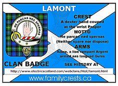 Clan Lamont Society of N.A. | Lamont Tartans | Pinterest