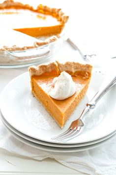Coconut-Sweet Potato Pie - Made this for a recent camping trip (of 60 people or so) and it was a big hit.
