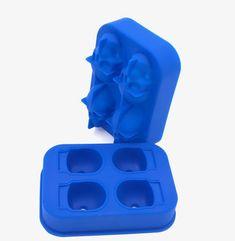 Reusable Skull Head Ice Cream Cube Mold Maker Skull Head, Silicone Molds, 1 Piece, Cube, Ice Cream, Color, No Churn Ice Cream, Icecream Craft, Colour