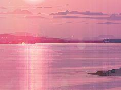 Beach by James Gilleard #Design Popular #Dribbble #shots