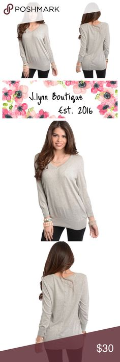 🌸Now available  🌸 🌸 now available at J.lynn boutique🌸  New long sleeve knit tops now available at J.lynn boutique! This cute and stylish long sleeve knit top features a V- neckline with ribbed cuffs and hem. Single patch pocket accent. Slim, stretch fit  As always:  -25% off bundles of 2 or more items  -offers will be considered with the offer button J.lynnboutique Tops Tees - Long Sleeve