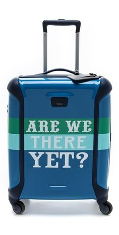 Tumi Jonathan Adler Are We There Yet Continental Carry On | SHOPBOP