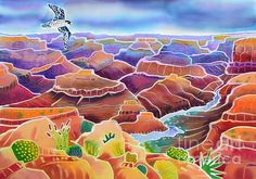 Grand Canyon by Harriet Peck Taylor - Grand Canyon Painting - Grand Canyon Fine Art Prints and Posters for Sale