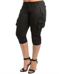 unionbay cargo capris (black) | Fashion | Pinterest | Capri and Black