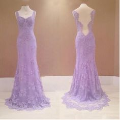 Lilac Prom Dresses,Vintage Prom Gow