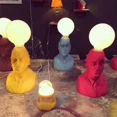 Luminárias Muxi Muxi - Sova Objetos Especiais criada pelo designer Ricardo Argenton;