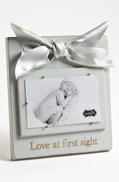Mud Pie 'Love At First Sight' Wooden Picture Frame (3x5) available at #Nordstrom