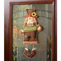 Give this little guy a home on your front door! He is bound to bring many smiles! #kirklands #harvest