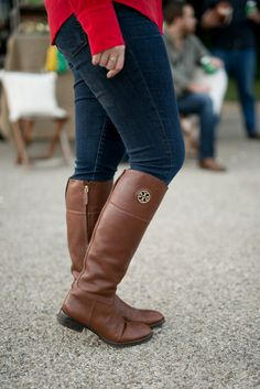 Tory Burch Boots for a Tailgate