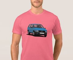 Fiat Uno Turbo i. on T-shirt. hot hatch from Italy. Gti Car, Fiat Uno, Mk1, Cool Cars, Classic Cars, Italy, Mens Tops, T Shirt, Supreme T Shirt