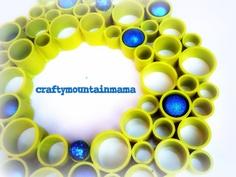 Super+Fun+PVC+Wreath+Large+20++24+Multi+by+craftymountainmama,+$75.00