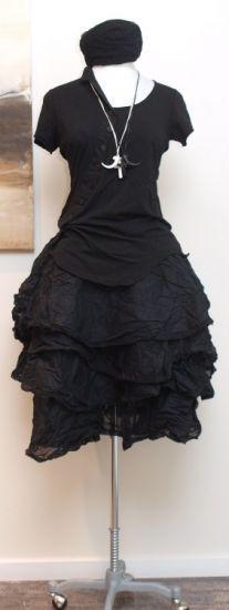 rundholz dip - Shirtbluse mit Knopfleiste black iron - Sommer 2014 - stilecht - mode für frauen mit format...
