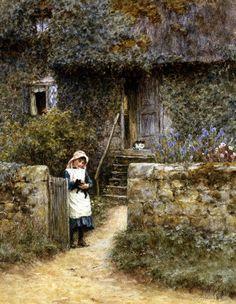 The Garden Gate by Helen Allingham