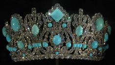 The Marie Louise Diadem. Made As A Wedding Gift For Enpress Marie Louise, 2nd Wife Of Napolean Bonaparte. Oringinally Set With Emeralds With Over 1,000 Diamonds. Part  Of A Parure Made By Nilot In 1810. Much Of The Parure Was Kept In Marie Louise's Family Until The Tiara Was Sold In The 1850's To Van Cleef & Arpels.