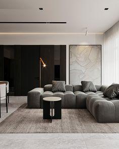 Apartment Interior, Home Living Room, Interior Design Living Room, Living Room Designs, Living Room Decor, Home Room Design, House Design, House Rooms, Interior Architecture