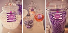 Pretty In Purple Dessert Table
