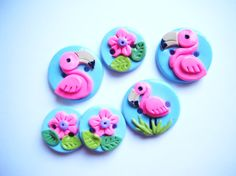 Botones de arcilla de polímero a mano botón por digitsdesigns