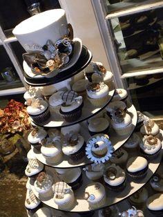Broke Creative Bride: Steampunk Wedding Cake Inspiration
