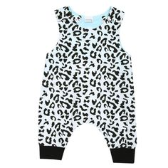 >> Click to Buy << Newborn Baby Romper Leopard Printed Sleeveless Summer Romper Jumpsuit Outfits Sunsuits Kids Western Style Clothes  #Affiliate