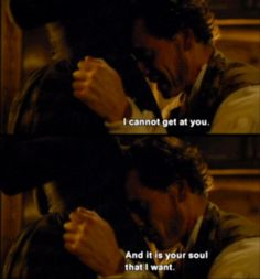 The first portrayal of Mr. Rochester to completely break my heart. (Jane Eyre-Michael Fassbender, Mia Wasikowska)