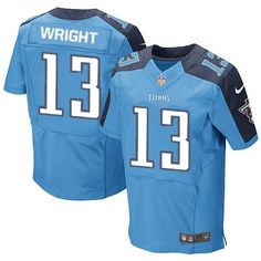 youth nike custom made tennessee titans elite light blue team color nfl jersey sale