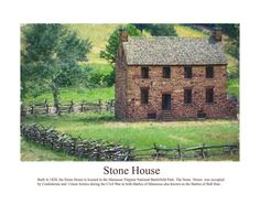 stone house paintings | Stone House Photograph by Don Lovett - Stone House Fine Art Prints and ...