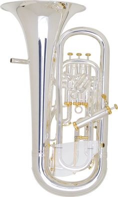 Brass Instruments now at Guaranteed Lowest Prices - carosta.com - Besson Be2051 Prestige Professional Euphonium Silver
