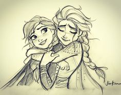 New Frozen 2 art with Elsa and Anna final look, and other main characters of the movie Disney And Dreamworks, Disney Pixar, Walt Disney, Disney Sketches, Disney Drawings, Otto Schmidt, Disney Style, Disney Art, Frozen Drawings