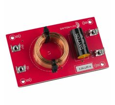 This order (i. 12 dB per octave) low pass Linkwitz-Riley filter from Dayton Audio passes frequencies below the given frequency and can easily be combin. Crossover, Dayton Audio, Subwoofer Box, Audio In, Inline, Stuff To Buy, Filters